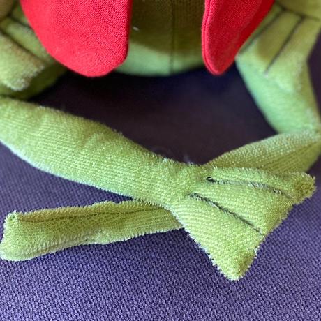 バーレーベンどうぶつ手人形 カエルのヘルベルト