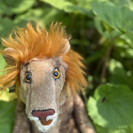 バーレーベンどうぶつ手人形 ライオンのハロルド