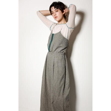LINEN CAMISOLE ALL IN ONE(PC1009A)