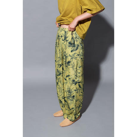 FERN PRINT WIDE PANTS(PC1025)