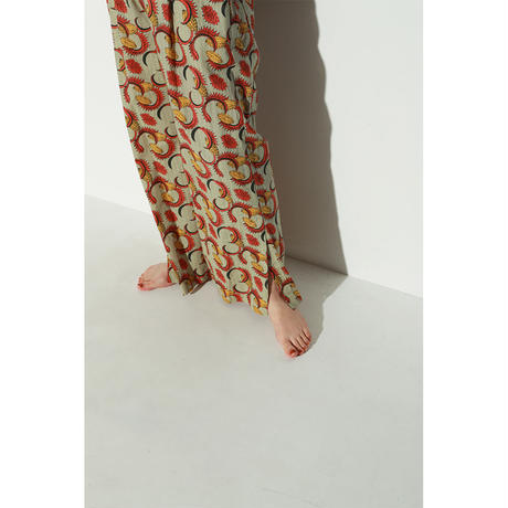 AFRICAN BATIK STRAIGHT PANTS(PB1028)