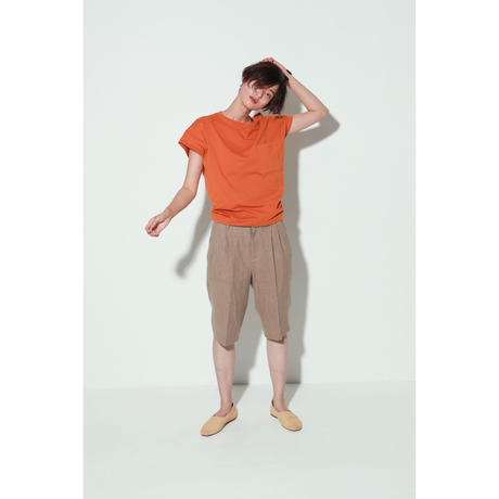 LINEN HALF TAPERED PANTS(PC1010)
