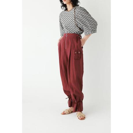 LINEN DRAWCORD PANTS