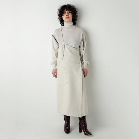 ONE-SHOULDER SKIRT DRESS(SB2012)