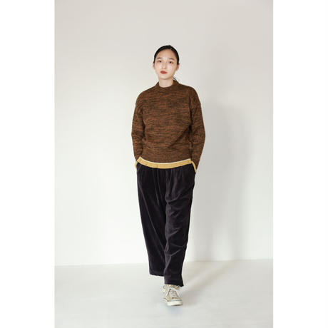 MIX TWEED KNIT PULLOVER(KC2011)