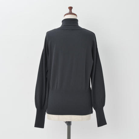 14G WOOL HIGH NECK KNIT PULLOVER(KC2009)