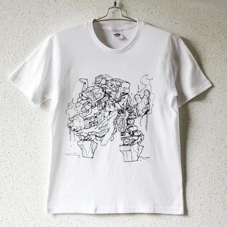 mzn / Mecha Girl T-shirt + Perspectives of Shinya Mizuno