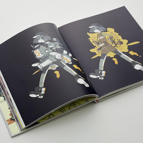 [Perspectives of Shinya Mizuno] + [mzn+]  (book+fanzine)