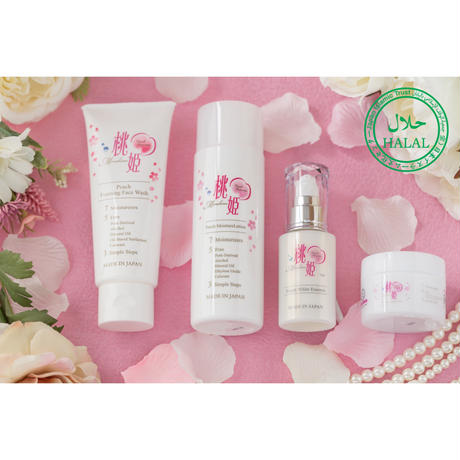 Momohime all skincare sets