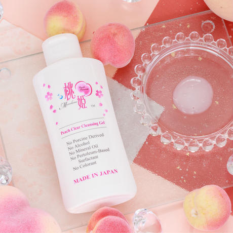 Momohime Peach Clear Cleansing Gel
