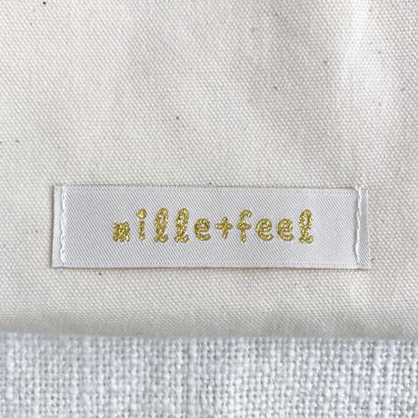 mille+feel  |  アップリケ巾着ポーチ(フルーツ)/  CHERRY