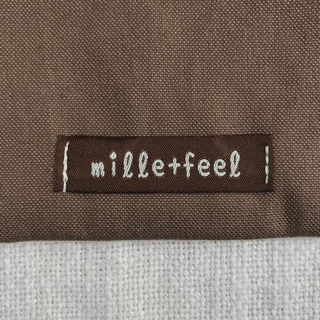 mille+feel  | アップリケフラットポーチ / CHERRY