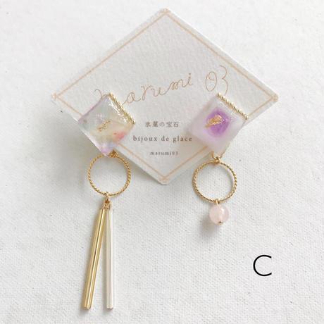marumi03 | 氷菓の宝石・イヤリング
