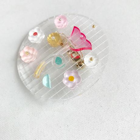 marumi03 | 透明植物園 花かご・ブローチ