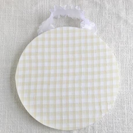 藤色     折り紙アニマルの額飾り(大)/  コアラ