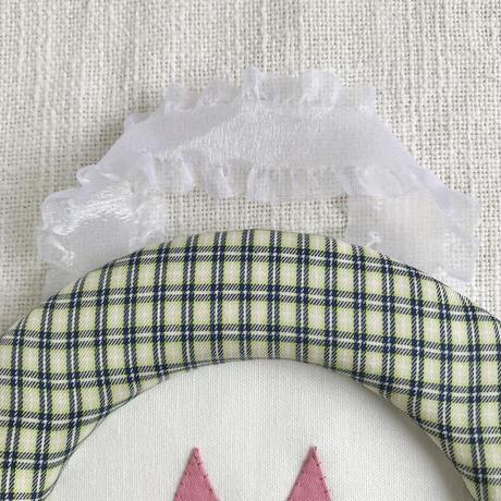 藤色  |  折り紙アニマルの額飾り(大)/  きつね