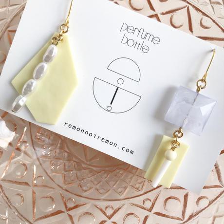 レモンノイレモン  |  perfume bottle ピアス〈イヤリングに変更可能〉