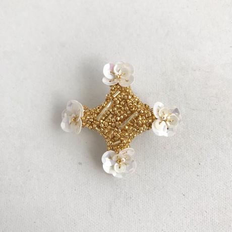 suumi  |  プリズムのブローチ  /  gold