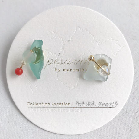 marumi03 | 【pesarma by marumi03】eau ピアス