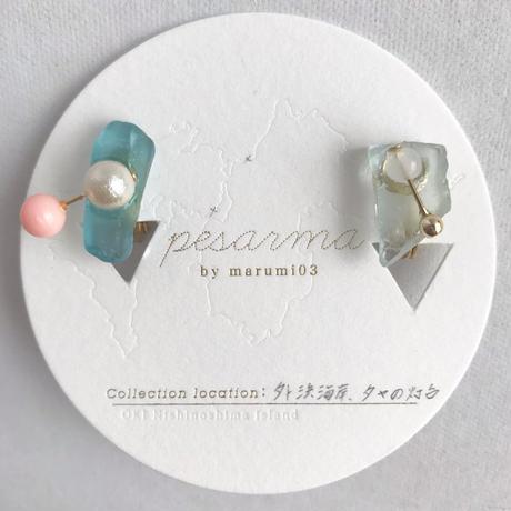 marumi03   【pesarma by marumi03】eau イヤリング