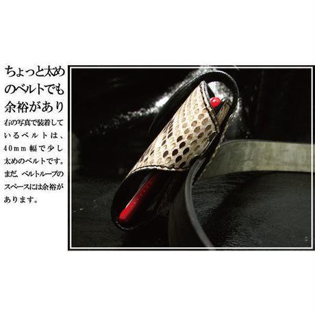 ダイヤモンドパイソン 錦蛇革 本牛革スマートフォンケース マグネット金具【tc05py】