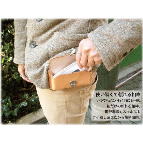 本ヌメ革携帯ケース スマートフォンケース【tc06】