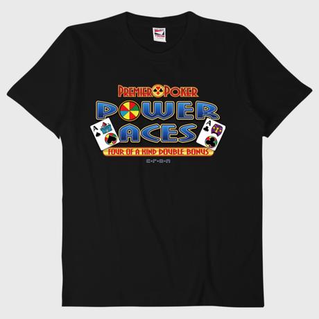 PowerAbes-Tシャツ-ブラック-Mサイズ(サンプル品)
