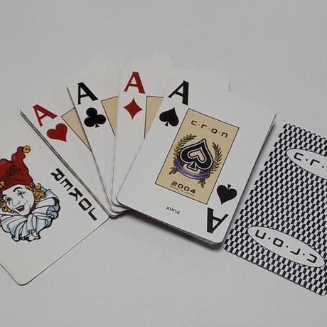 クロンオリジナル・プレイングカード(1個ご注文)