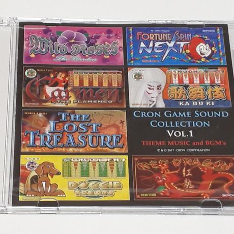 クロン・ゲームサウンド・コレクションCD・Vol.1  (1枚購入)