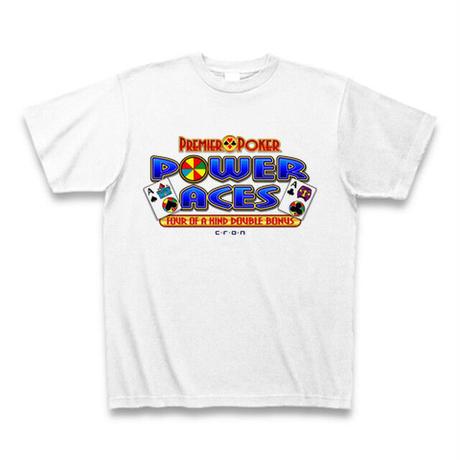 PowerAbes-Tシャツ-ホワイト-Mサイズ(サンプル品)