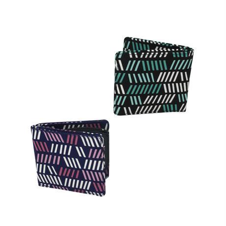 Blue Lines 二つ折り財布