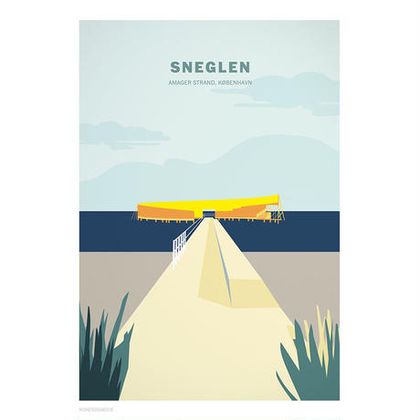 Wonderhagen A5カード「Sneglen」