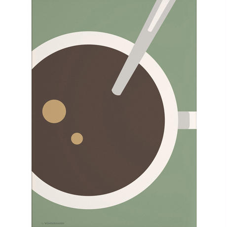 Wonderhagen A5カード「Coffee」