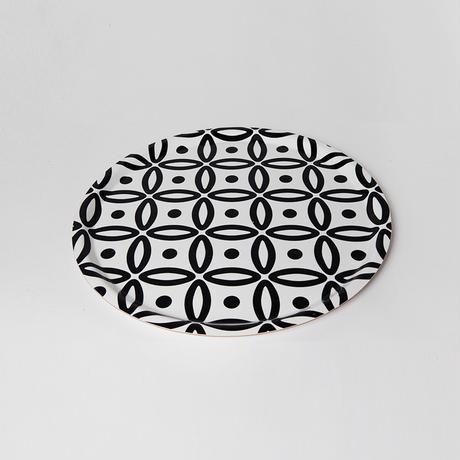 Designparken トレイ丸型 Lサイズ: 「Art Deco」