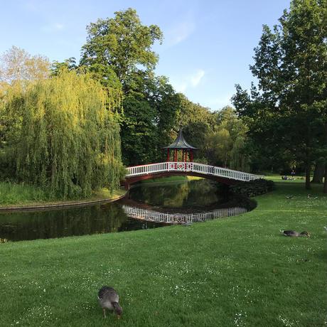 Wonderhagen A5カード「Frederiksberg Gardens」