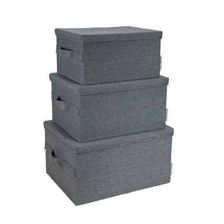 Bigso ソフト・ストレージ 整理ボックス:「Box Storage」M