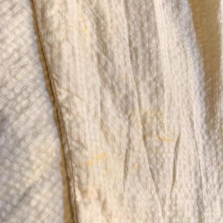 ワッシャー生地×コットン切替 インド ビーズ刺繍 ワンピース[9377]