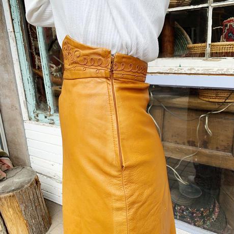 1970'S VINTAGE フリンジデザインスカート [9163]