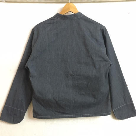 French work vintage コックジャケット (GRAY) [7474]