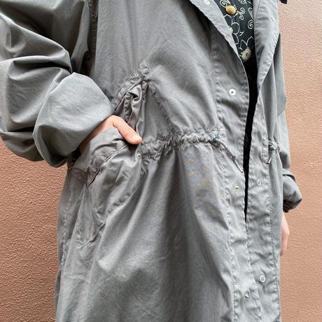 US military スノーカモフラージュ パーカー(gray overdyed)[8726]