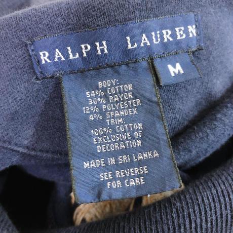 Ralph Lauren ショールカラー スウェットカーディガン[8638]
