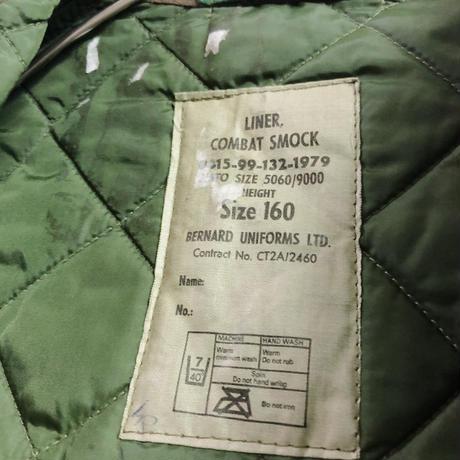 1970s British military combat smock liner キルティングベスト[9201]