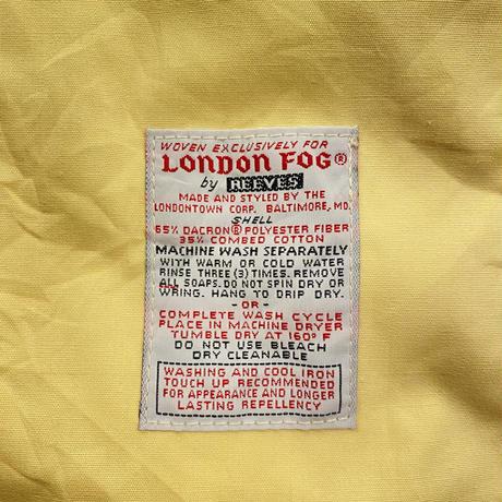 "vintage ""LONDON FOG"" イエロー スウィングトップ[9199]"