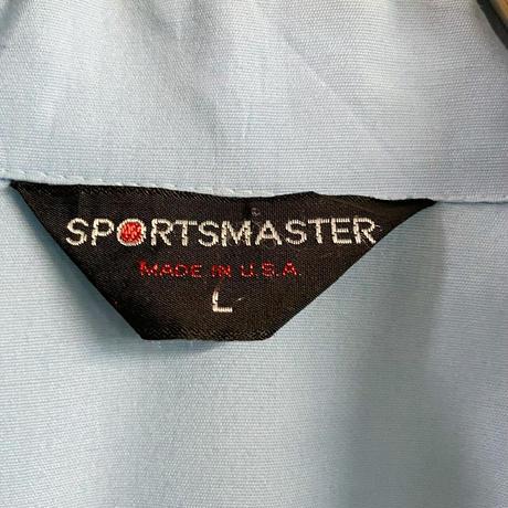 "USA vintage ""sports master"" ライトブルー スウィングトップ[9200]"