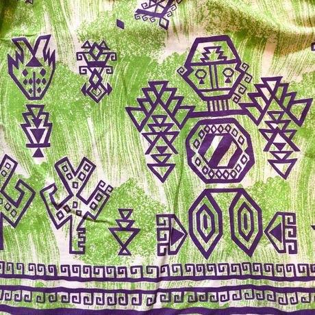1950s 民族柄 メキシカンコットンスカート [1015]