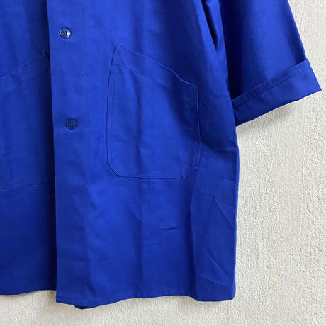 French vintage NEW OLD STOCK ワークコート(BLUE)[7461]