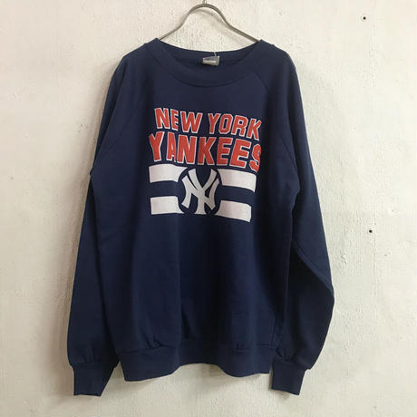 "usa ""New York Yankees"" ネイビー ロゴプリント スウェット[8566]"