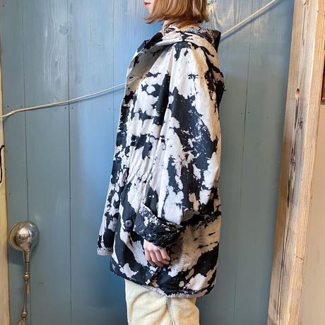 Sweden militaiy M-62 スノーカモパーカー (tie-dyed)[9203]