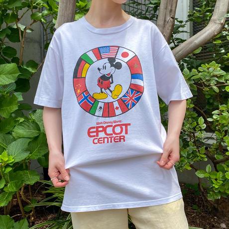 "80s ミッキー ""EPCOT center""Tシャツ [2160]"