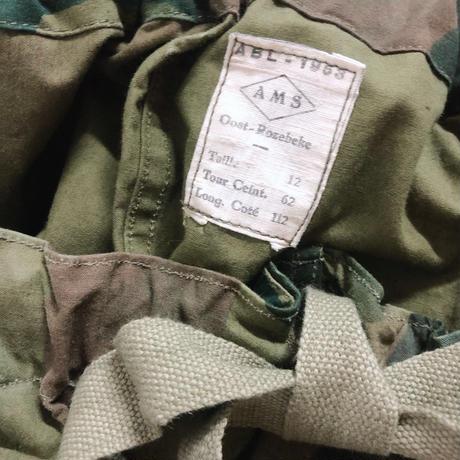 1953年製 前期型 Belgium military ブラッシュストロークカモ オーバーパンツ [8902]